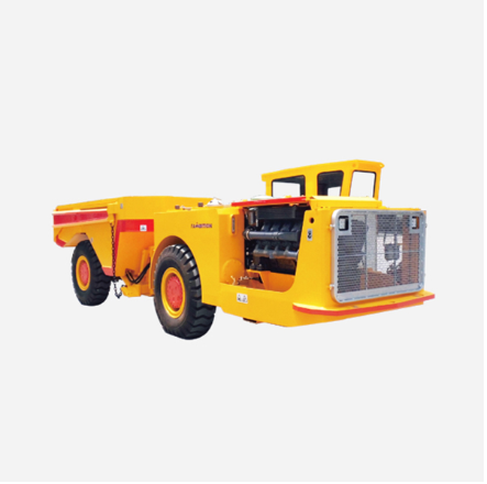 What are the characteristics of underground dump truck?