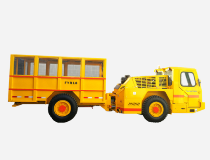Underground personnel transportation carriers